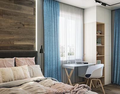 Bedroom 3d animation and visualizations