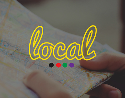 Local - Mobile App Icon Design