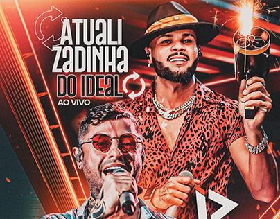 CD PROMOCIONAL- ATUALIZADINHA DO IDEAL AO VIVO