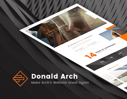 Donald Arch - Make Architect  Website Great Again