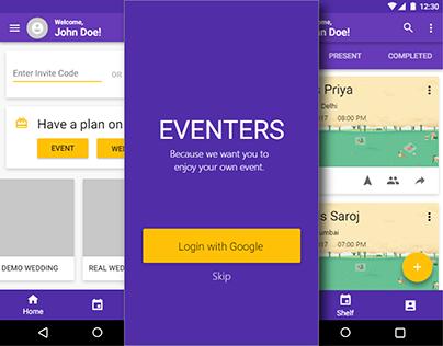 Eventers | UI/UX Design