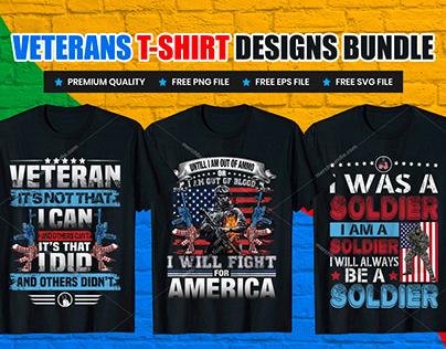 Veteran Dat T-Shirt Design Bundle V.2