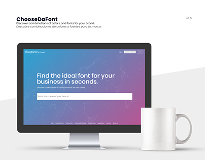 ChooseDaFont — Discover fonts & colors for your brand