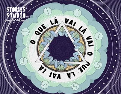 D.A.M.A. O QUE LÁ VAI Lá VAI . animation video