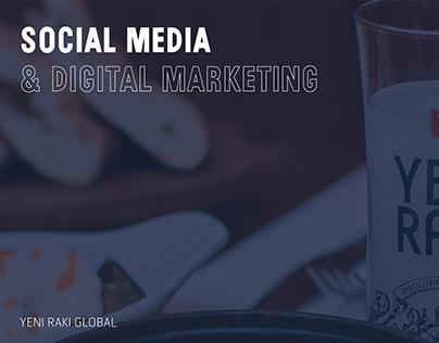 Yeni Rakı Social Media