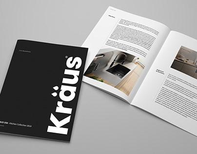 Kraus USA Kitchen & Bath Catalog 2018