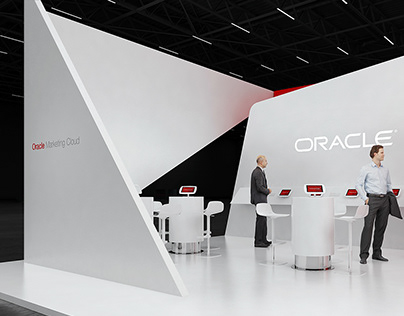 * Oracle * exhibition stand *