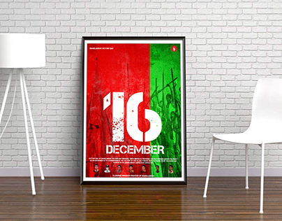 16 December Victory Day Poster