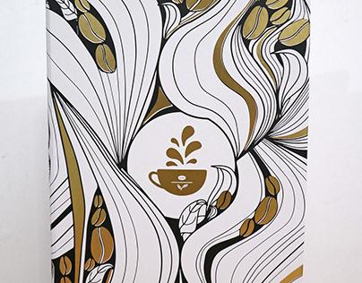 Coffee Bean & Tea Leaf 2018 Giving Journal Cover Design