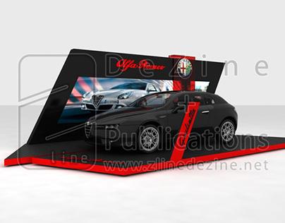 Alfa Romeo: Giulietta Exhibition Stand