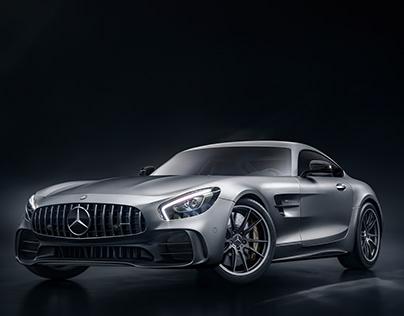 Mercedes SLS GT-R | CGI & Retouch | Personal Project