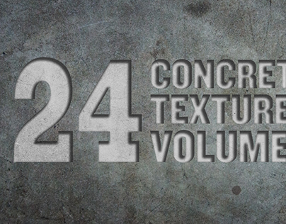 24 Concrete Textures Vol. 2