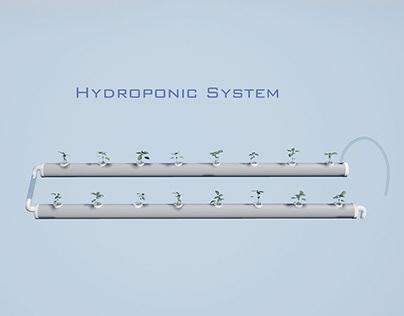 Modular Hydroponic System.