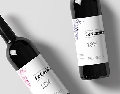 Le Carillon / wine label / packaging