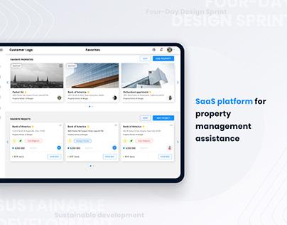 SaaS platform for property management assistance
