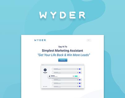 Wyder - Simplest Marketing Assistant