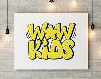 Logo Creation Process - Wow Star Kids