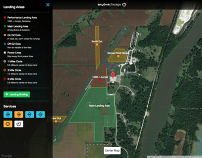 Interactive Airport Map with Aviation Weather