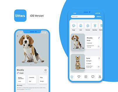 Litten - Mobile App - Pets
