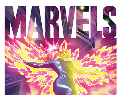 Marvels Epilogue Editorial Design