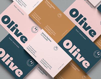 Olive - Brand Identity