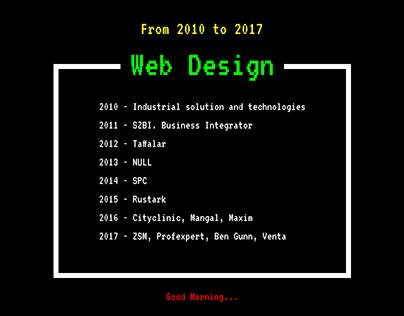 Old School Web Design