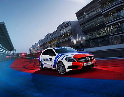 Mercedes-Benz MRW and Sochi Racetrack