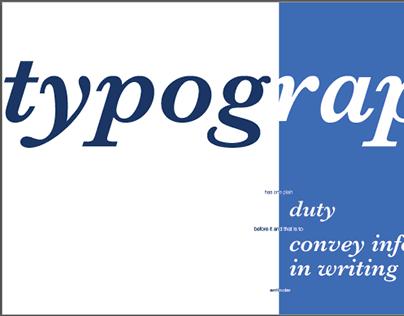 Typography Quote