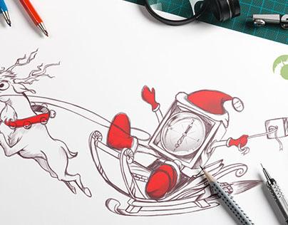 Compassboxmedia Christmas Theme Creatives