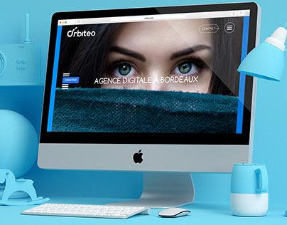 Orbiteo - Web Design
