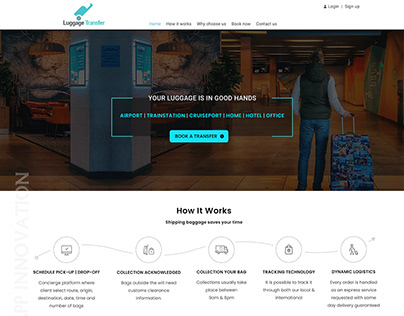 Luggage-Transfer-Web-UI-Kit-App-Innovation