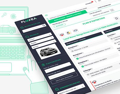 Fluxea - Design d'une interface client