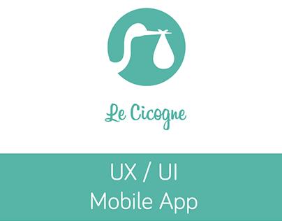 Le Cicogne - UX / UI - Mobile App