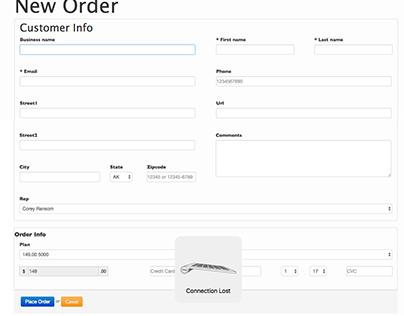 Stripe Sales Management & Payment Dashboard
