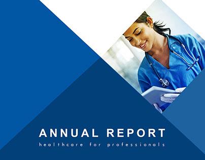 Profmed Annual report re-design