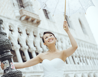 Wedding photo session in Venice