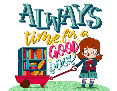 Always time for a good book!