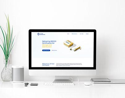 Website re-design for UK Food Certification