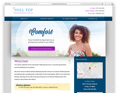 Web: Hilltop Women's Reproductive Clinic