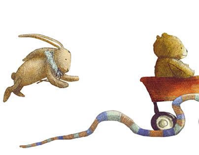 """""""L'isola dei giocattoli perduti"""" (Teddy & Co)"""