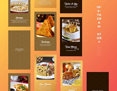 Instagram Story Alhamra Restaurant
