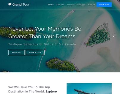 Tour &TravelBooking Website Development