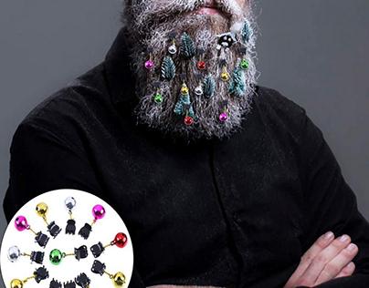 CCINEE 12 Pieces Beard Baubles Ornaments(B07JD62N6R)