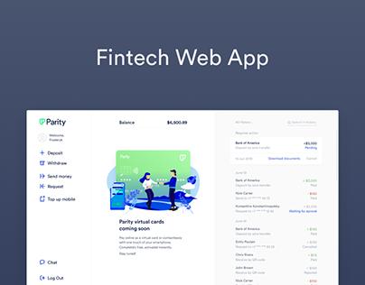 A Fintech Web App