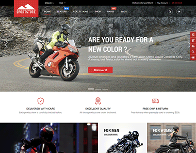 SportStore - Drag & Drop Sectioned Shopify Theme