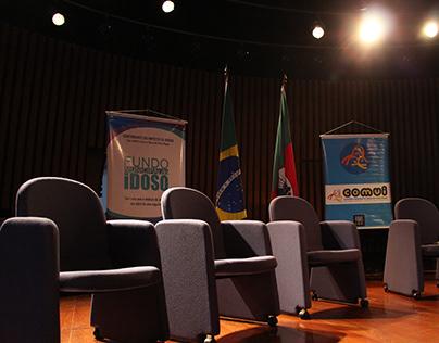Fotos do Seminário Pol. Públicas para Idosos em POA/RS