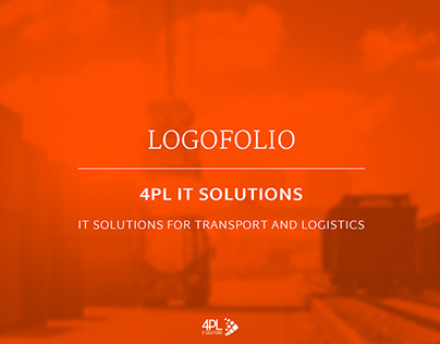 Logo propositions for an IT and logistics company