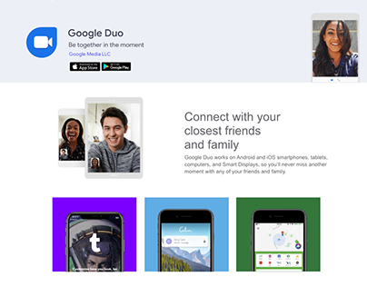 DevSoup With Google Duo | Landing Page 2019