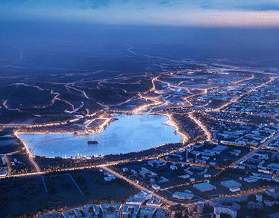 Masterplan of Almetyevsk