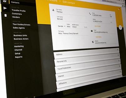 Material design business app